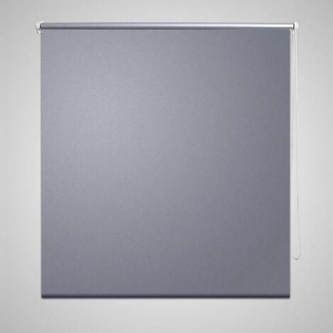 Roller Blind Blackout 120 x 175 cm Grey