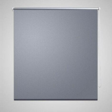 Roller Blind Blackout 120 x 175 cm Grey VD08052