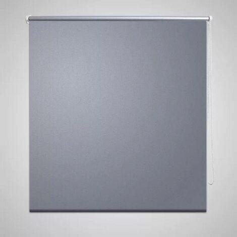 Roller Blind Blackout 140 x 175 cm Grey VD08058