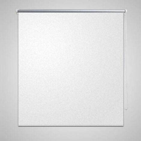 Roller Blind Blackout 160 x 230 cm White