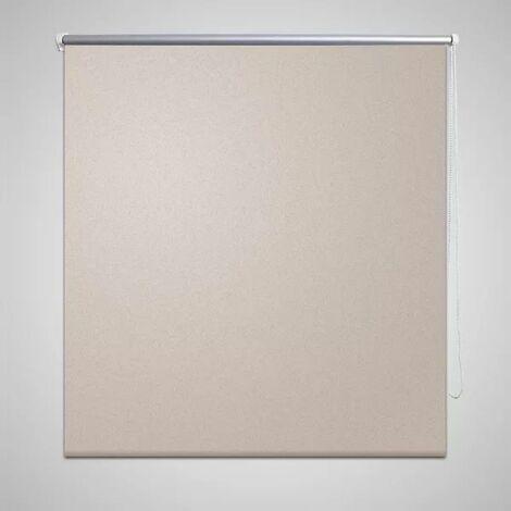 Roller Blind Blackout 40 x 100 cm Beige