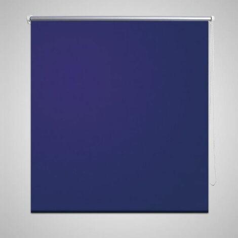 Roller Blind Blackout 40 x 100 cm Marine / Blue