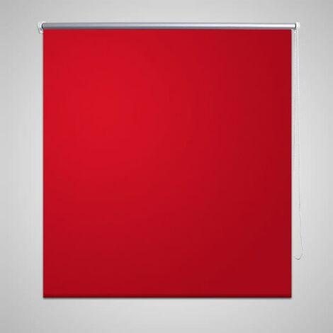 Roller Blind Blackout 40 x 100 cm Red - Red