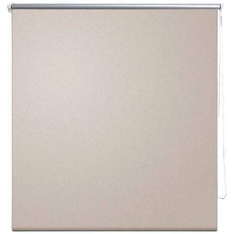 Roller Blind Blackout 60 x 120 cm Beige