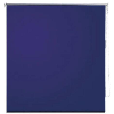 Roller Blind Blackout 60 x 120 cm Marine / Blue