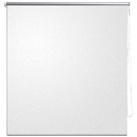 Roller Blind Blackout 60 x 120 cm White
