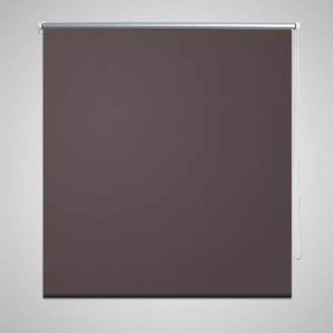 Roller Blind Blackout 80 x 230 cm Coffee