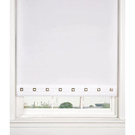 Roller Blind Sq. Eyelet 60 x 165cm White