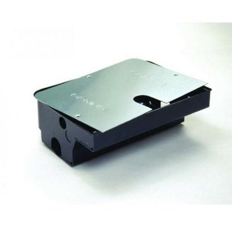 Roller Box Cassetta Di Fondazione In Acciaio Coperchio Genius 58P0050 Tecnologia