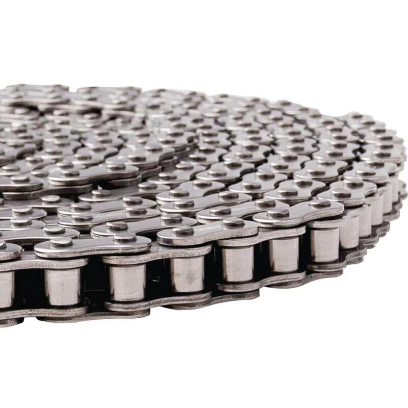 Image of 08B-1 Roller Chain DIN818 7 - British Std (5MTR) - Dunlop Btl