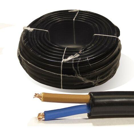 "main image of ""Rollo 100 mtrs. Manguera 2X1,5 mm² FLEXIBLE PVC RV-K 0,6/1KV"""
