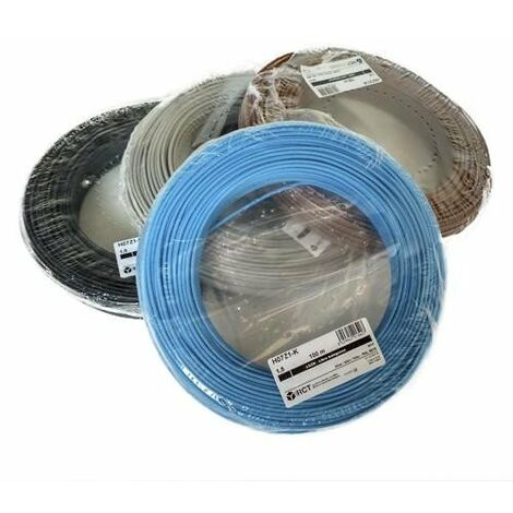 Rollo 100mtrs Cable unipolar Flexible 1,5 mm. Libre de Halógeno -CPR-