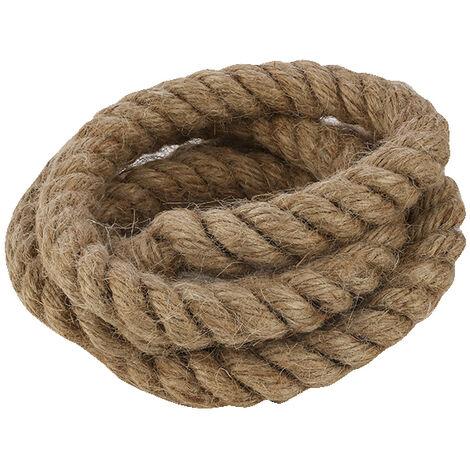 Rollo 10m. cable trenzado tipo soga decorativo 3x0,75mm. (F-Bright 0901244)