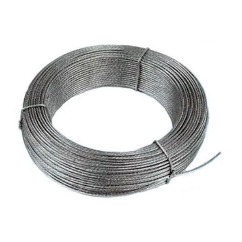 ROLLO 15mts CABLE ACERO 4mm 6x7+1  33000030 AM