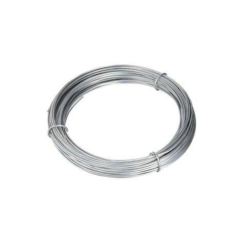 Rollo 5 kg alambre galvanizado extra 1,3mm.n8
