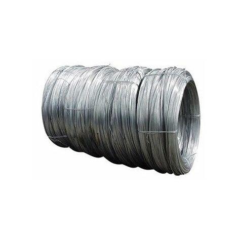 Rollo 5 kg alambre galvanizado extra 3,9mmn19
