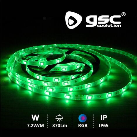 Rollo 5M LED SMD5050 (7.2W) RGB IP65 24V