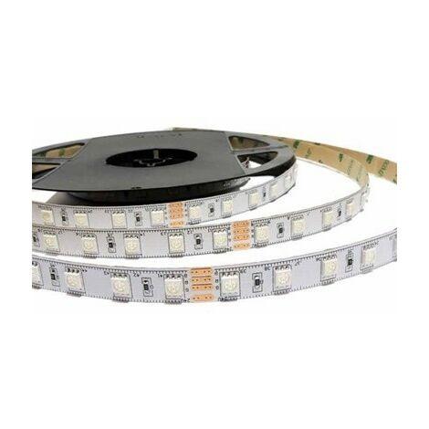 ROLLO 5M TIRA LED 12V PISA 5W/MT IP63 3000K