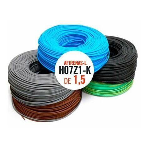 Rollo cable 200 mtrs 1,5 mm. Libre de Halogeno