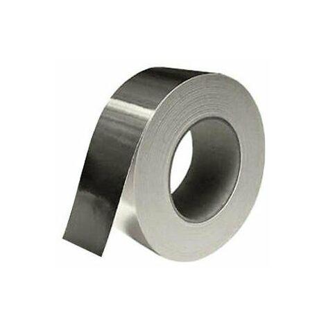 Rollo Cinta Adhesiva de Aluminio 50MT 30 Micras