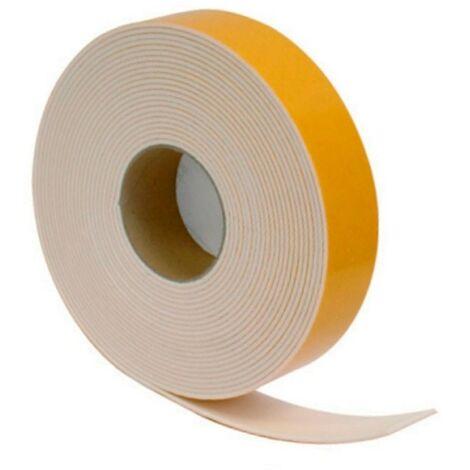 Rollo cinta autoadhesiva marfil 10 mts 50x3 mm