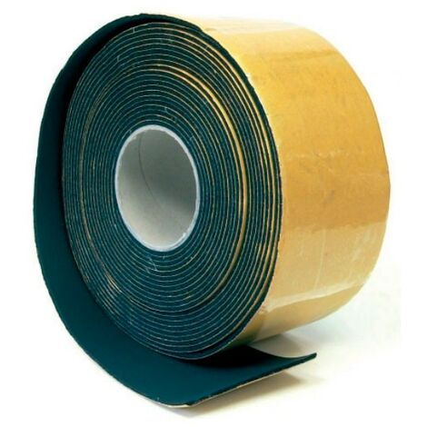 Rollo cinta Isocell autoadhesiva negra 10 mts 100x3 mm Climatización