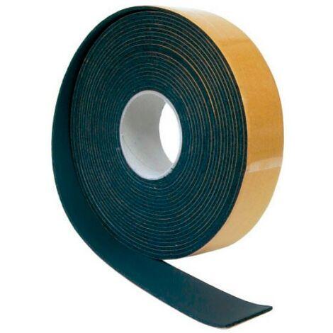 Rollo cinta Isocell autoadhesiva negra 15 mts 50x3 mm Climatización