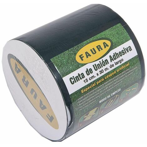 Rollo cinta unión adhesiva 15 cm x 5 m