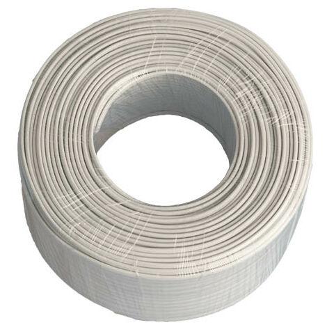 Rollo de 100M 4 cables OD 3.6mm - Blanco
