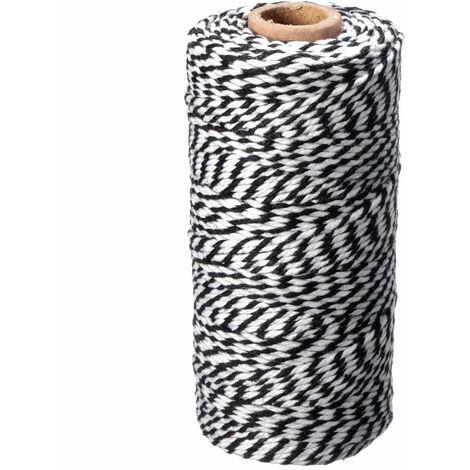 Rollo de cuerda de yute de 300 pies, cuerda para hacer álbumes de recortes DIY, Sasicare