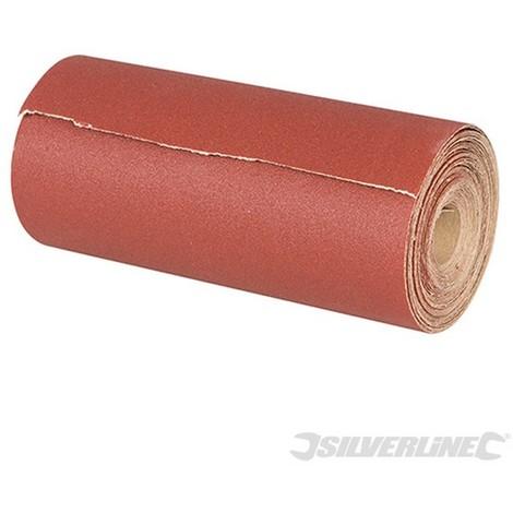 Rollo de lija de óxido de aluminio 50 m (50 m. Grano 80)