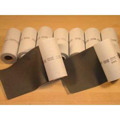 Rollo de lija de tela 153 mm x 7.5 m. grano 2400 Micro-Mesh