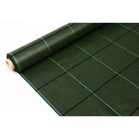Rollo de Malla Antihierbas Standard 1,50 x 100. Color verde
