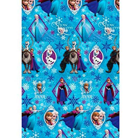 Rollo de papel de regalo Princesas 2 m