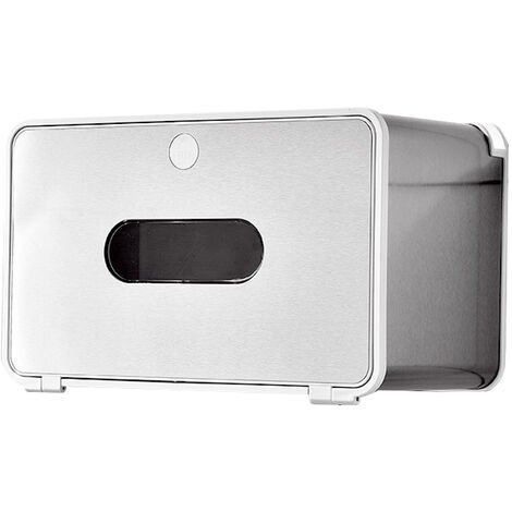 Rollo de papel higienico Cajas de almacenamiento de pared multifuncional bano de agua caja de panuelos de papel caja de Punch-libre, L, 2 #