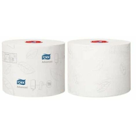 rollo de papel higiénico compacto Tork