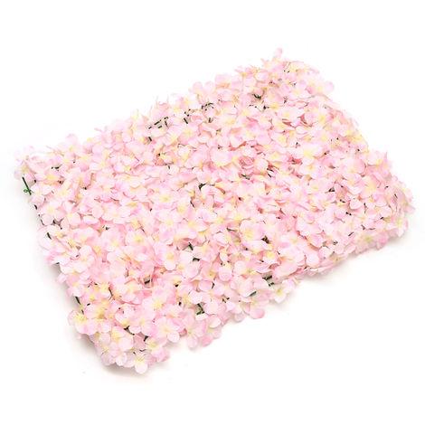 """main image of """"Rollo de pared de flores artificiales de bricolaje 60x40cm para la boda de la decoración del hogar"""""""