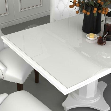 Rollo de protector de mesa PVC transparente 0,9x15 m 2 mm