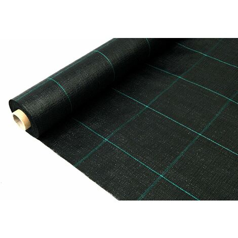Rollo Malla antihierbas negra (130 gr.)