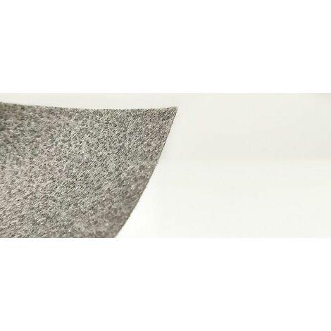 Rollo malla geotextil no tejido. Color gris