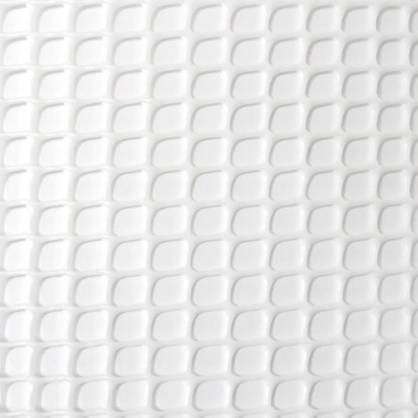 Rollo malla ligera cadrinet Blanco 1x25mts 4,5x4,5mm