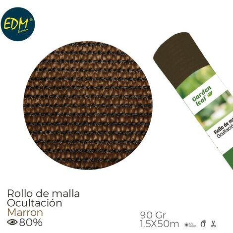 ROLLO MALLA MARRON 80% 90G 1,5X50MTS