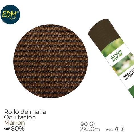 Rollo Malla Marron 80% 90G 2X50Mts - NEOFERR..