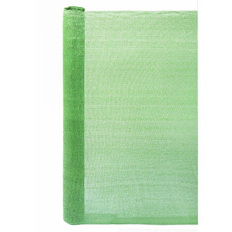 ROLLO MALLA OCULTACIÓN 120 G/M2 VERDE Verde 2 X 10M