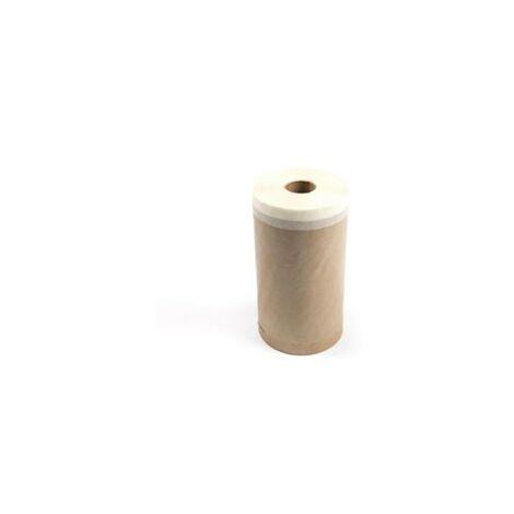 Rollo papel con cinta adhesiva 150mmx20mt