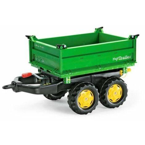 ROLLY TOYS Remorque pour tracteur a pédales Rolly Mega Trailer