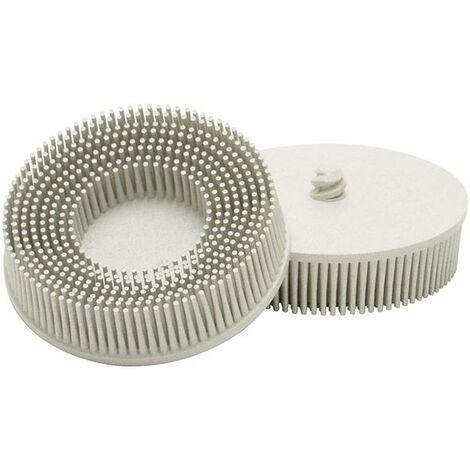Roloc (TM)-Bristle Disc Ø 76,2 mm 18000 tr/mn, Cubitron (TM) RD-ZB, Grain : 120, Couleur blanc