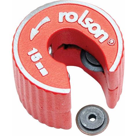 Rolson 22406 15mm Copper Pipe Cutter