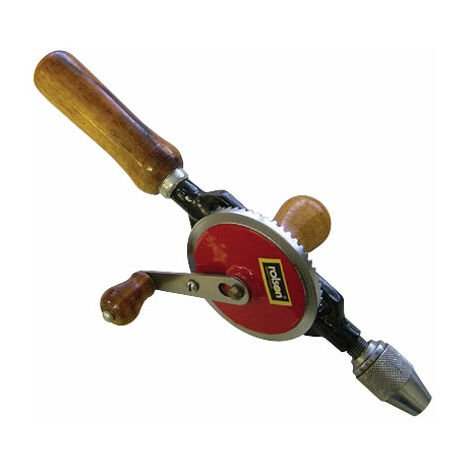 """Rolson 48107 Hand Drill with 1/4"""" Chuck"""