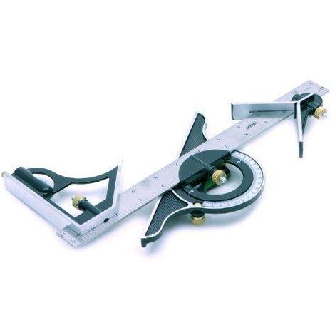 Rolson 50879 Kit d\'équerre combinée 300 mm